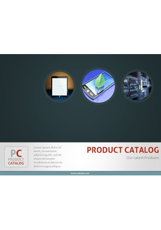 Product Catalog PowerPoint Template