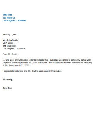 Proxy Letter Format