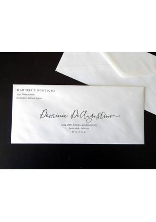 Sample Business Envelope