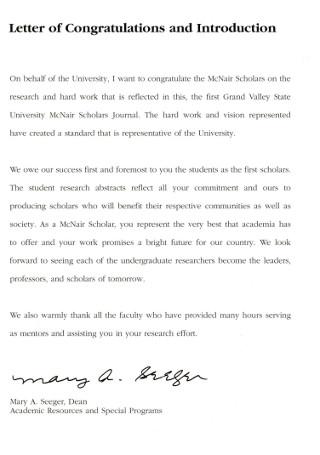 Sample Congratulation Introduction Letter
