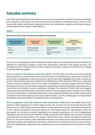Sample Executive Summary in PDF