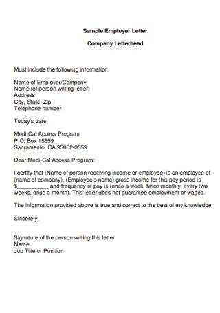 Sample HR Employer Cover Letter