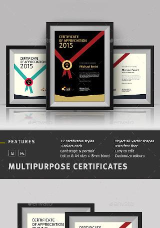 Sample Multipurpose Certificate