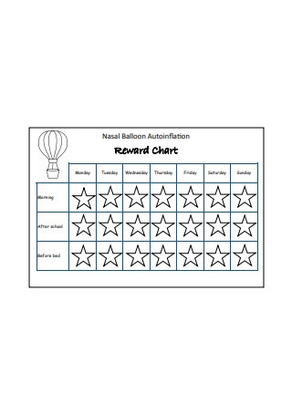 Sample Reward Chart