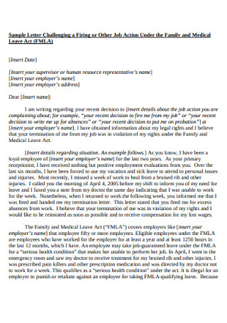 Sample Wonderful Termination Letter