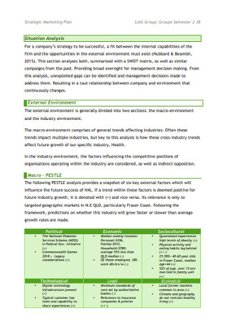 Strategic Business Marketing Plan