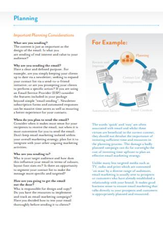 Strategic Email Marketing Sample