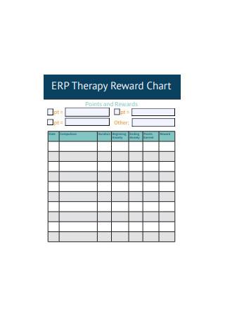 Therapy Reward Chart