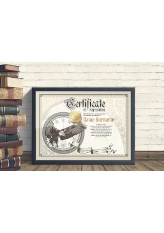 Vintage Certificate Templates