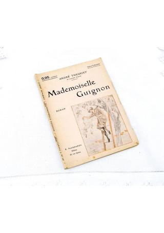 Antique French Novel Pamphlet