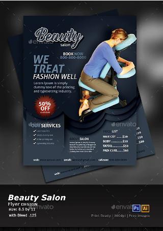 Beauty Salon Pamphlet