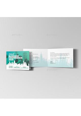 Conference Invitation Card