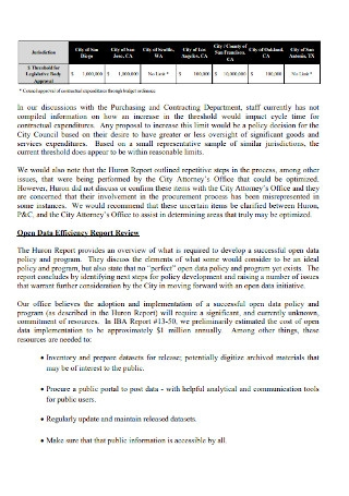 Consulting Group Report Template