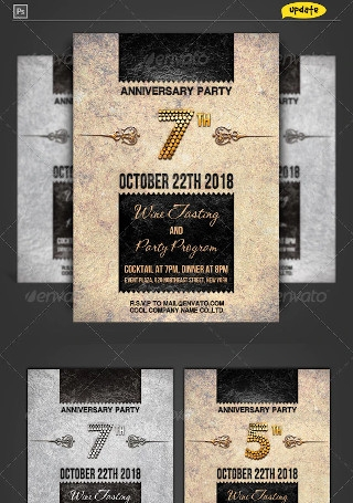 Corporate Anniversary Invitation