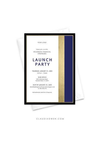 Editable Business Invitation