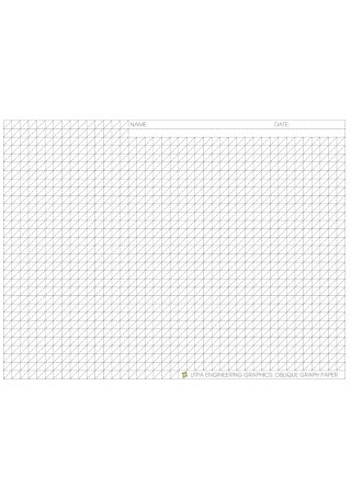 Engineering Graphics Graph Paper Template