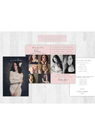 Glamour Pamphlet Template