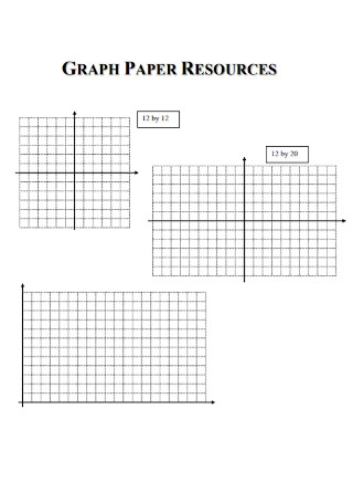 Graph Paper Resources Template