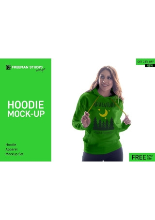 Hoodie Mock Up Set