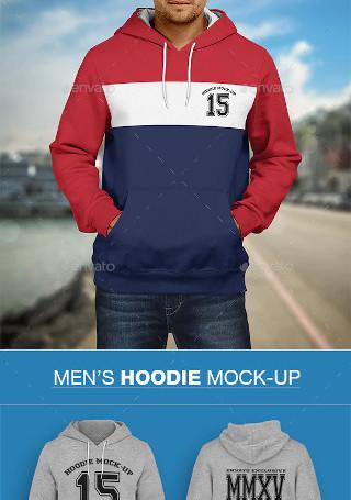 Hoodie Mockup Mens Edition