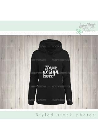 Hoodie Sweater Long Sleeve Mockup