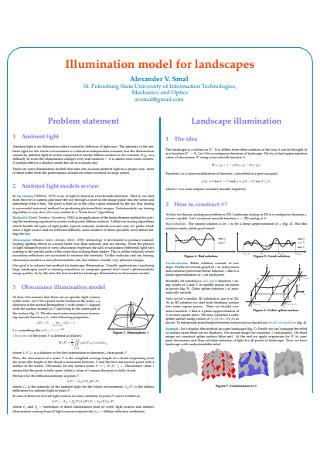 Landscape Problem statement