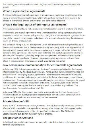 Prenuptial House Agreement