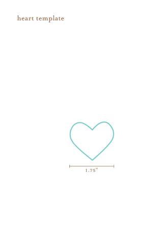 Printable Heart Template