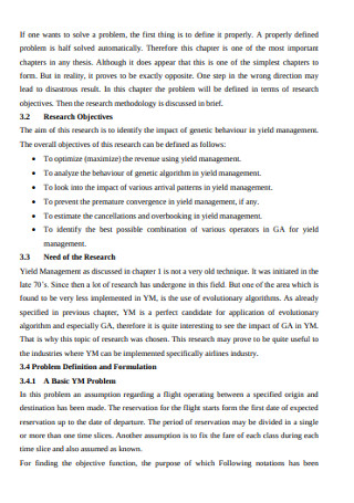 Problem Statementn and Research Methodology Template