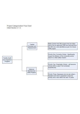 Project Categorization Flow Chart