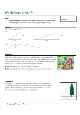 Pythagorean Theorem Practice