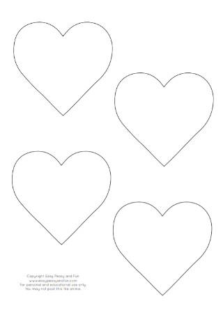 Sample heart Template