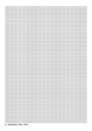 Squares Graph Paper Template