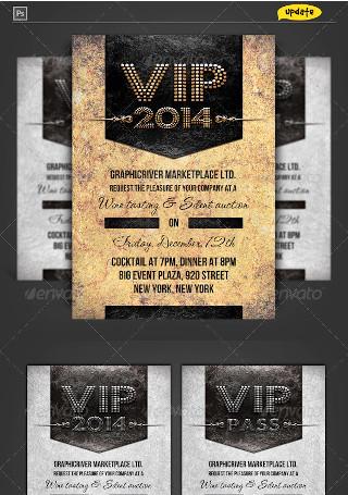 VIP Pass Corporate Invitation