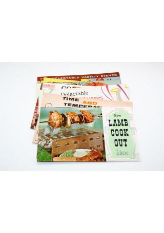 Vintage Lamb Recipe Pamphlets