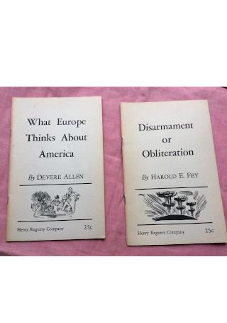 Vintage Political Pamphlet