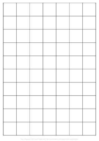 Weight Grid Graph Paper Template