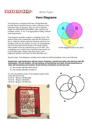 White Paper Venn Diagrams