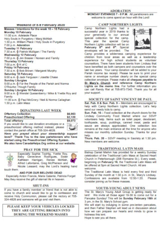 Church Weekend Bulletin Template