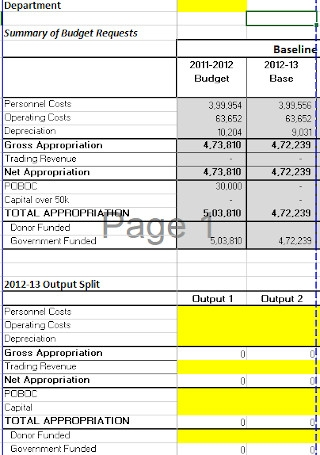 Corporate Budget Request Proposal Template