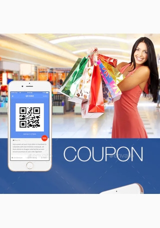 Coupon Mobile App Template