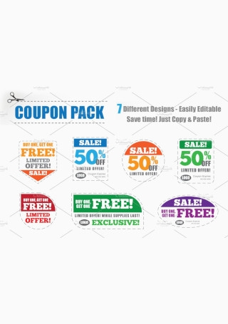 Coupon Pack Template
