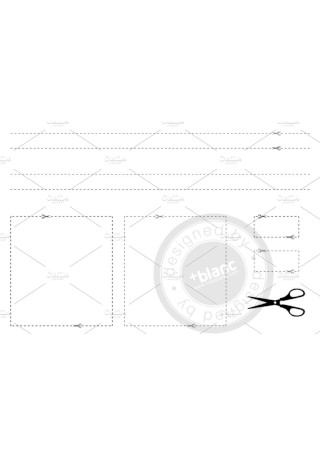 Coupon border Template