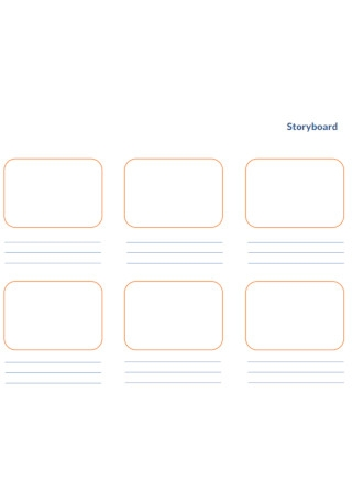 Education Story Board Template