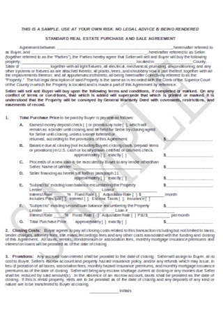 Formal Buyig Sales Agreement Template