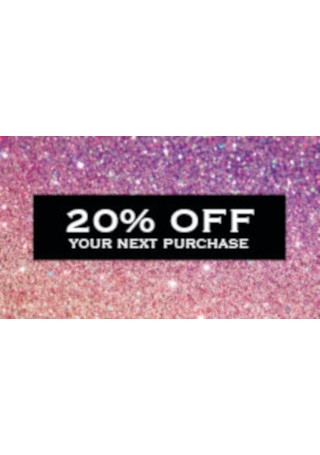 Glitter Coupon Card