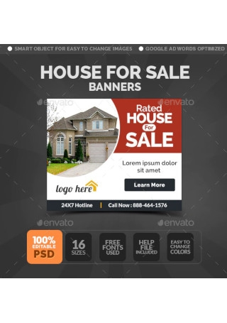 House For Sale Banners