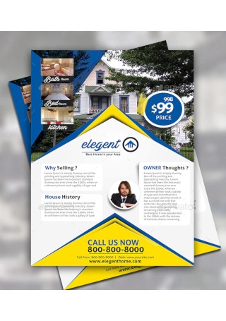 House For Sale Flyer Design