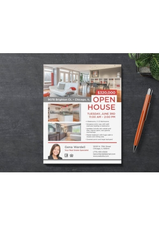House Real Estate Sales Flyer Template