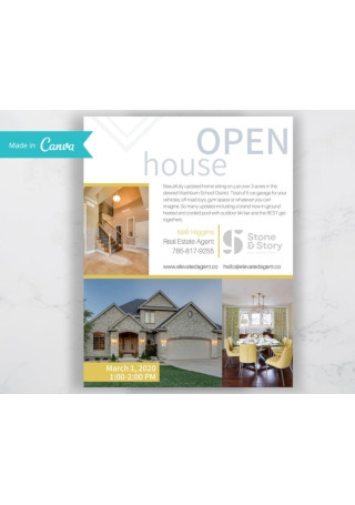 Open House Sales Flyer